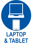 laptop and tablet repair services, we repair broken screens, digitisers, keyboards, charger ports